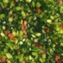Gebakken paardenbloemblad met spekjes