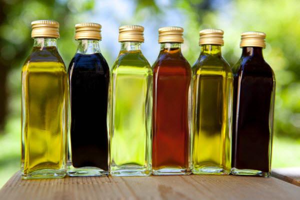 Olie en azijnsoorten